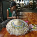 Iban tribe craft works
