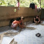 Learning the Iban tribe's way of life